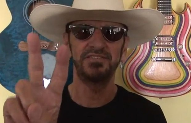 Ringo Wishes Willie a Happy Birthday