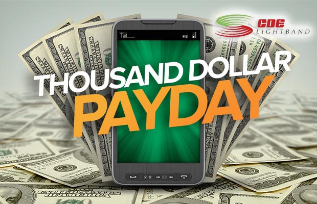 WIN $1000! Thousand Dollar Payday!