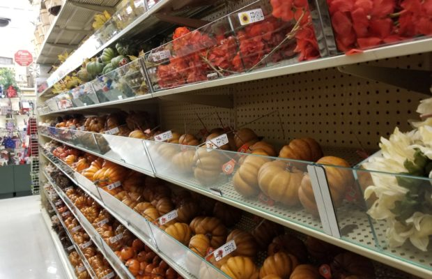 the hobby lobby in clarksville already has fall stuff out